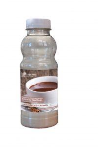 Shaker riche en protéines chocolat caramel