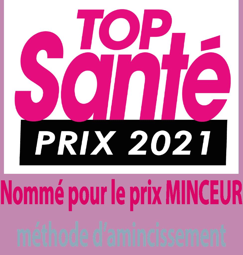 Logo TOP SANTE - NOMMINATION POUR LE PRIX MINCEUR